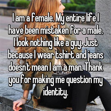 women   totally fed    mistaken  men