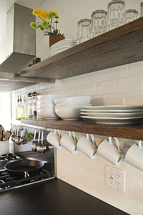 hanging kitchen shelves 17 helpful kitchen storage hacks pretty designs