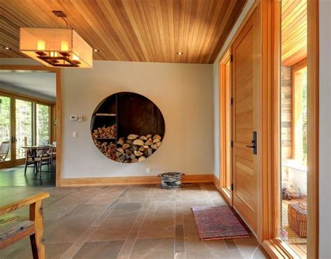25 wood decor ideas bringing unique texture into modern creative interior design with wood 25 firewood storage