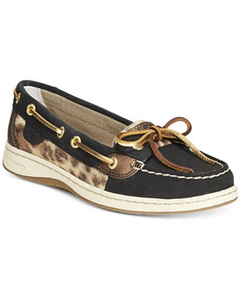 boat shoes macys sperry women s angelfish boat shoes flats shoes macy s