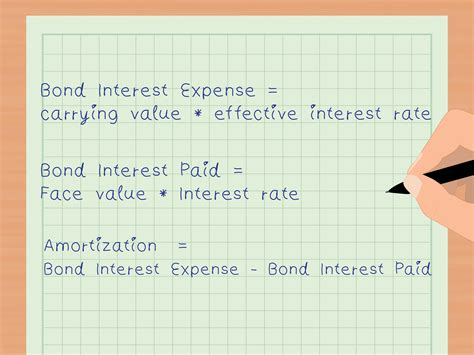 how to calculate carrying value of a bond with pictures