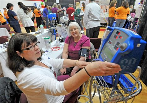 Hospital Background Check Inland Hospital Hosts World Of S Wellness In Waterville Central Maine