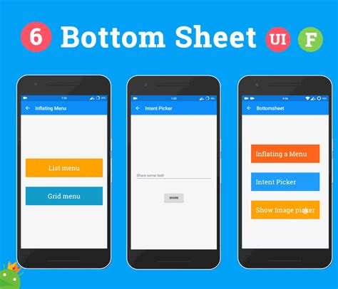 android pattern setup android ultimate material design ui features template