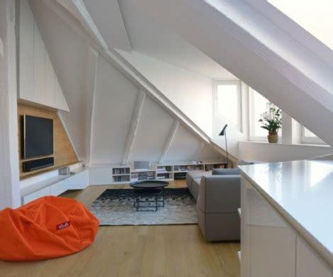 Dachwohnung Einrichten by Dachwohnung Einrichten Profitieren Sie Der Farbe