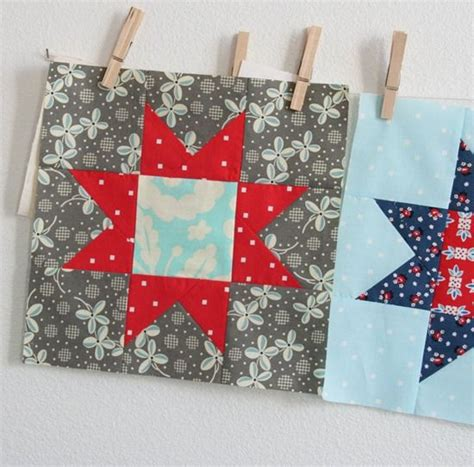 Patriotic Quilt Blocks by Block From Cluck Cluck Sew Makes A Great