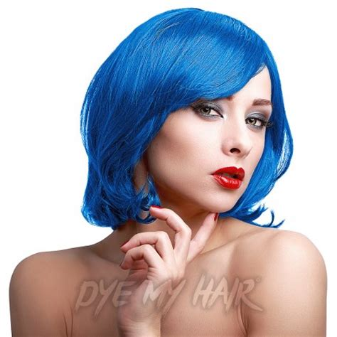 stargazer coral blue hair dye, semi permanent temporary