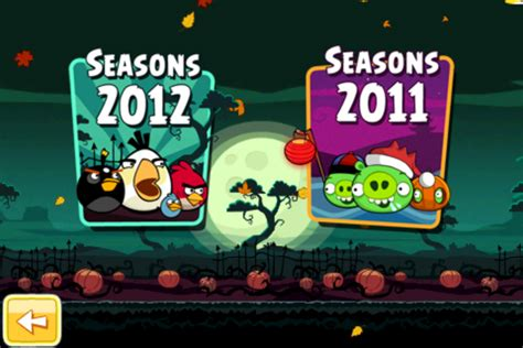 angry birds seasons new year theme ipod apps new angry birds seasons update