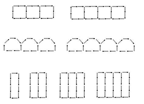 patterns matchsticks worksheet median don steward mathematics teaching patterns for nth