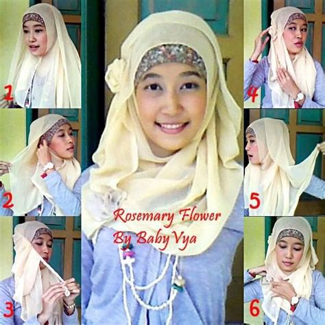 tutorial jilbab turban simpel 425 best images about hijab tutorials ideas on pinterest