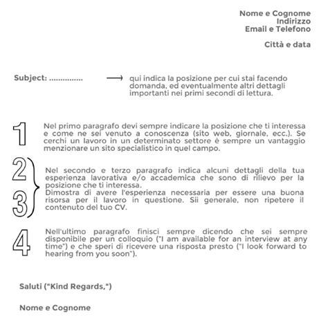 esempi di lettere di presentazione in inglese cv in inglese consigli per scriverlo correttamente