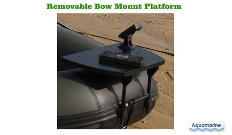 boat bow motor mount kit stainless for inflatable boat - Bow Boat Mount