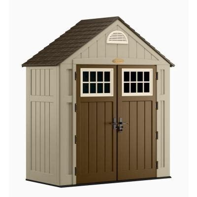 6 X 3 Storage Shed by Suncast Alpine 3 Ft 8 In X 7 Ft 6 In Resin Storage