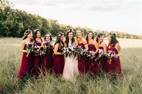 bohemian burgundy wedding inspiration  wedding playbook
