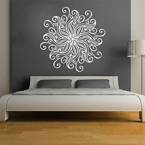 home decor decals mandala wall stickers decals indian pattern oum om