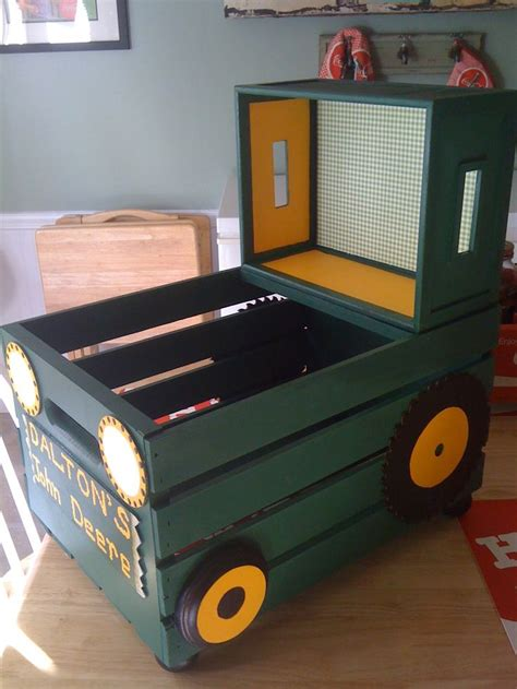 toy box ideas free wooden toy tractor plans woodworking projects plans