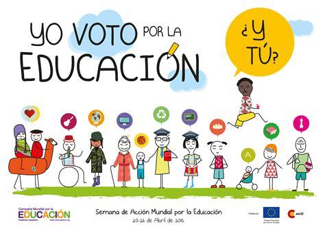 imagenes motivadoras educacion yo voto por la educaci 243 n 191 y t 250 edujesuitedujesuit