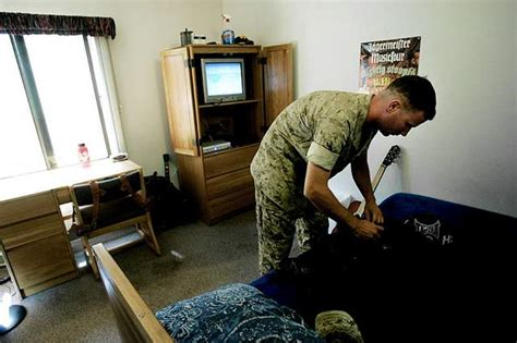corps rooms barracks policy focused on privacy comfort marine corps