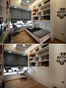 Study Space Design Spare Room Ideas Easy Storage Space Study Makes Room When
