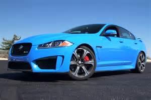 Jaguar Xfr Blue Blue And Happy 2014 Jaguar Xfr S On Ignition W