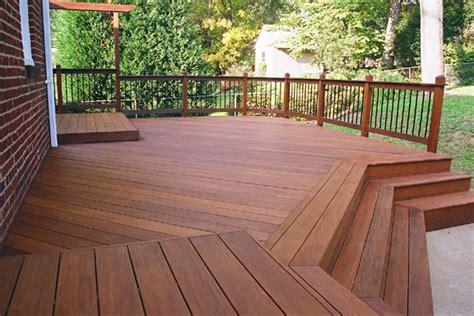 ipe decking  cedar decking thompson mahogany