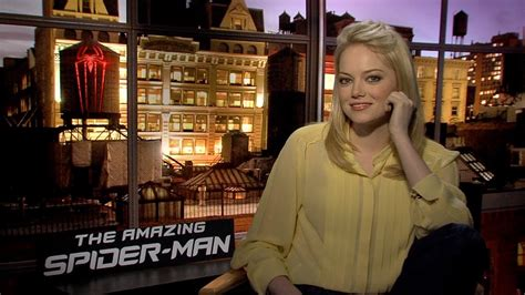 emma stone youtube interview the amazing spider man emma stone interview youtube