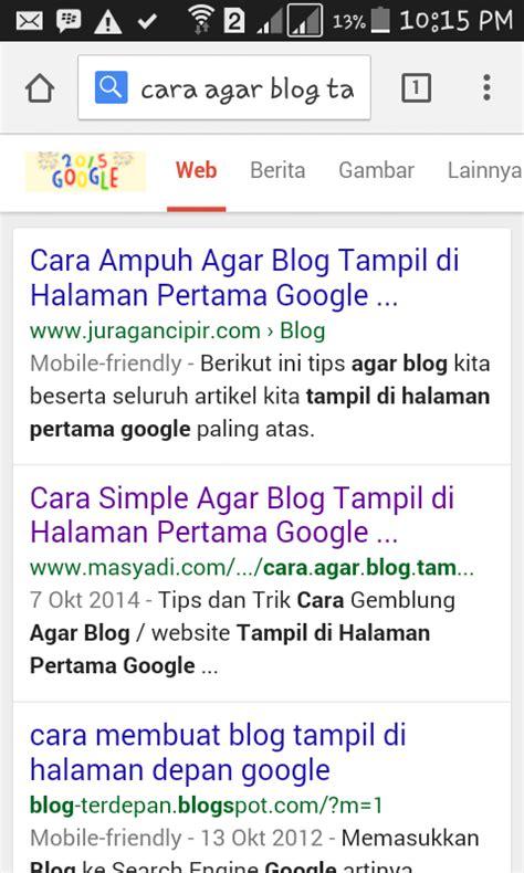 cara membuat wordpress mobile friendly cara membuat agar blog seo mobile friendly mas yadi