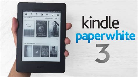 amazon kindle paperwhite 3 2015 review youtube kindle paperwhite 3 2015 unboxing review youtube