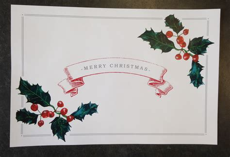 free printable christmas paper placemats christmas paper placemats pictures to pin on pinterest