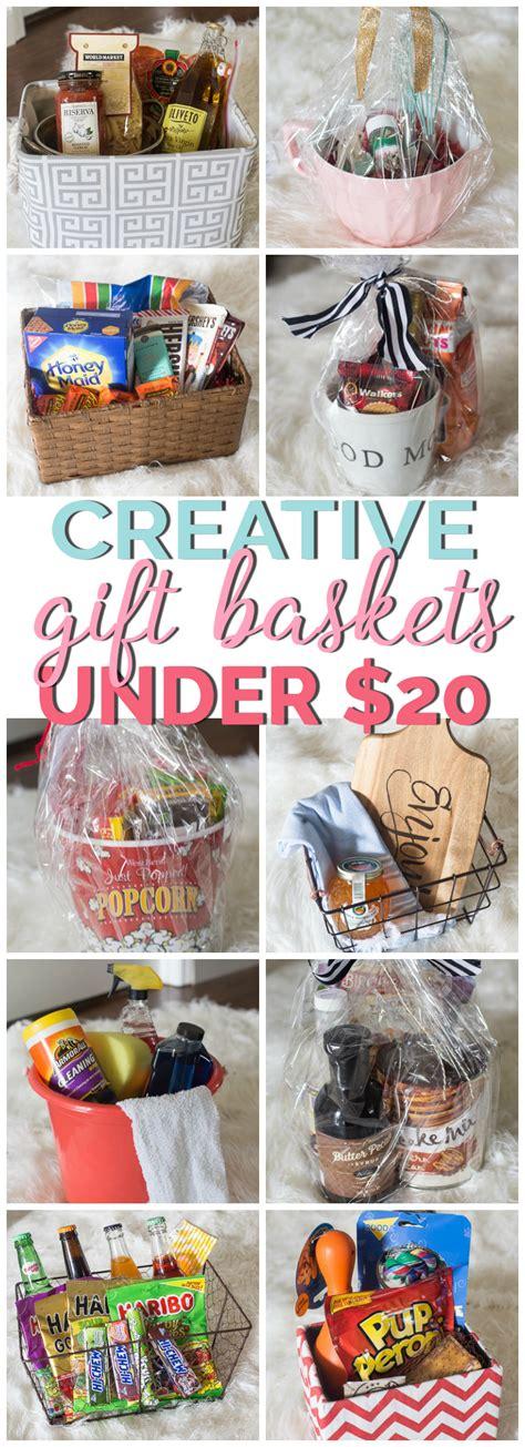 creative gift basket ideas 20 basket ideas