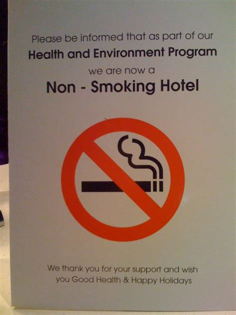 how to smoke in a non hotel room do picture warnings really discourage in the line of wire