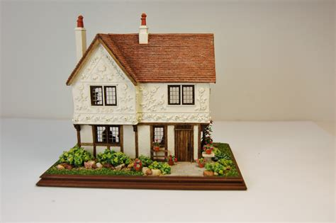 miniature homes models miniature miniatures nell corkin a pargeted house