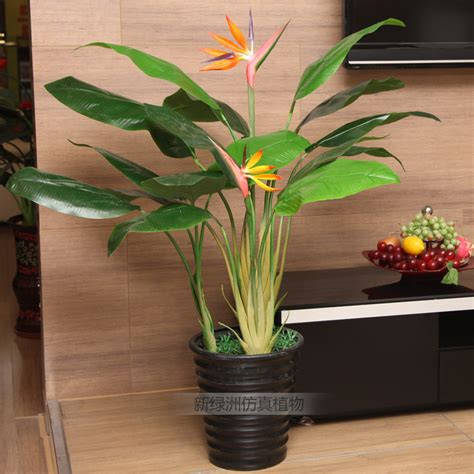 artificial house plants living room artificial plants living room decoration plants bonsai silk tree rod bird of