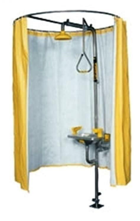safety shower curtain speakman safety shower privacy curtain se curtain
