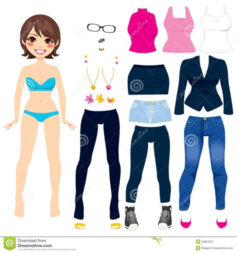 1000 images about mu 241 ropa de papel para recortar paper doll stock