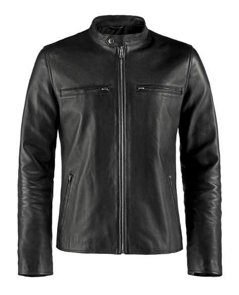 Motorrad Lederjacke Cafe Racer by Cafe Racer Leather Jacket Soul Revolver