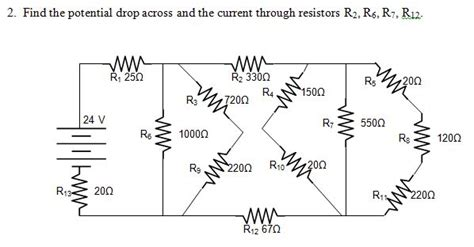 resistor network circuits physics teach science net