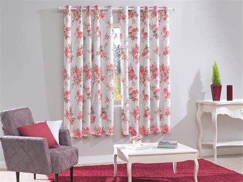 cortinas rosas cortina de janela estada rosas blackout bella janela