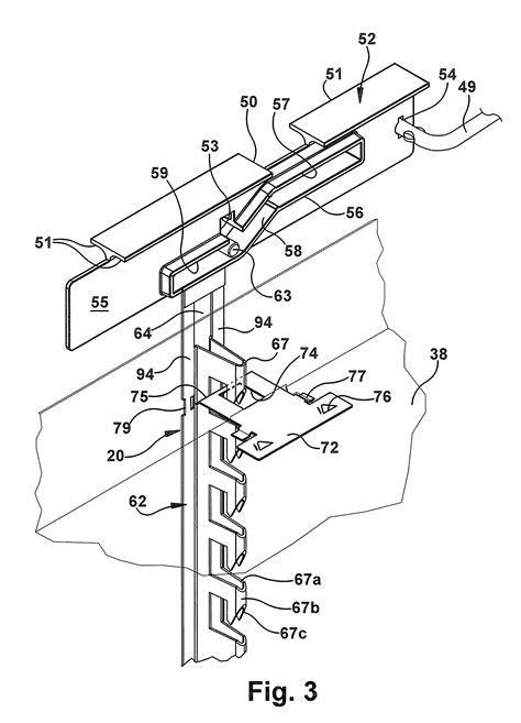 Drawer Locking Mechanism by Patent Us7946663 Drawer Lock Mechanism Patents