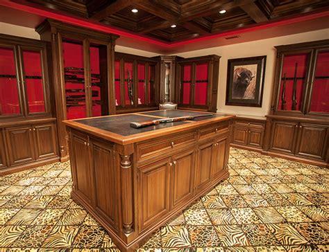 Gun Safe Rooms by Vault Room Cabinetry Gunsafe Amish Custom Gun Cabinets