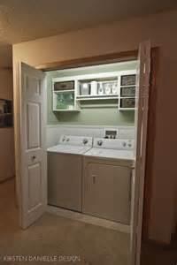 Laundry Room Closet Washers The Laundry And Laundry Closet On