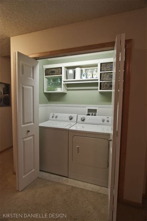 Laundry Room Closet by Washers The Laundry And Laundry Closet On