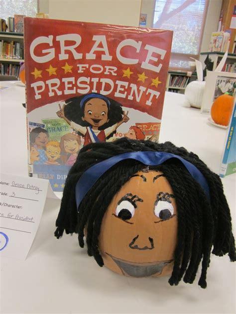 pumpkin book report characters grace for president book pumpkin pumpkin challenge