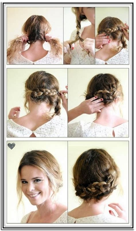 hairstyles for short hair with steps 8 beautiful wedding hairstyle for short hair with steps 8