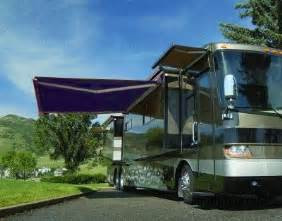Motorhome Canopy Awning by High Quality Blue 11 5 X 8 Rv Retractable Patio Awning