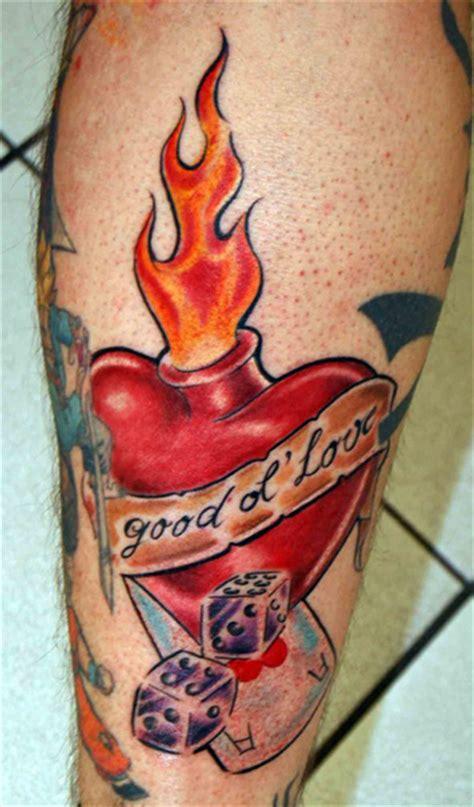 tattoo old school fire galerie oldschool newschool comic tattoo zentrum l 252 beck