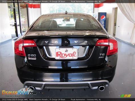 volvo s60 r design black 2012 volvo s60 r design awd black sapphire metallic r