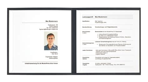 Bewerbungsmappe Muster Reihenfolge Die Quadratische Bewerbungsmappe Bewerbungswissen