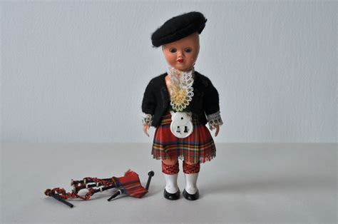 Day 51 Scottish Doll W Bagpipes Obsolescence Project
