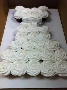 the cupcake activist wedding dress cupcake cake