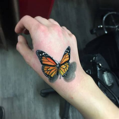 butterfly hand tattoos 85 3d butterfly tattoos